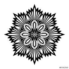 "Beautiful Deco Mandala (Vector)"" Stock image and royalty-free ..."