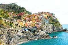 Cinque Terre...or commonly known as The Five Lands in the English Language has been on my travel list for many many years (thank you, Pinterest)... I recognised the pictures of the stunningly beautiful lands before