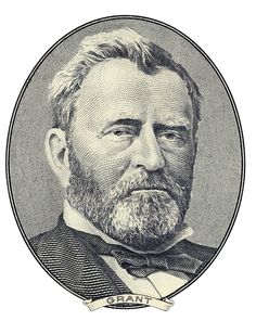 Portrait of Ulysses S. Portrait of former U. president Ulysses S. Money Images, Money Pictures, Ulysses S Grant, Money Template, Collages, Grant Money, Money Tattoo, Money Notes, Cross Hatching