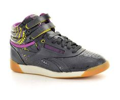 Reebok Womens Fashion Sneakers V46000 F s Hi Alicia Keys Gravel Leather | eBay
