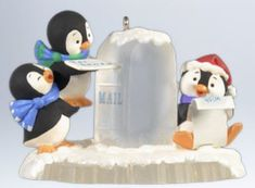 Hallmark 2012 Keepsake Ornaments Postal Penguins >>> Learn more by visiting the image link. Penguin Ornaments, Hallmark Christmas Ornaments, Hallmark Keepsake Ornaments, Christmas Wishes, Christmas Decorations, Christmas Ideas, Merry Christmas, Penguins And Polar Bears, Cute Penguins