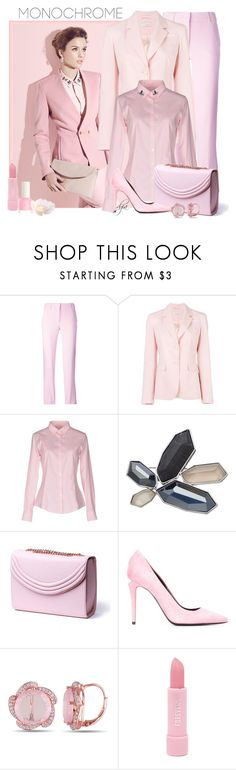"""Color Me Pretty: Head-to-Toe Pink"" by dgia ❤ liked on Polyvore featuring Emilio Pucci, Altuzarra, Rossopuro, Simply Vera, Lauren Cecchi, Alexander Wang, Miadora and Forever 21"