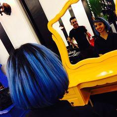 Blue by Alexandre Rios #circushair #circuspamplona #hair #fashion #style