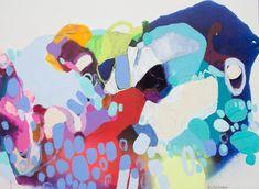 """La Bodega"" by Claire Desjardins. 35""x47"", acrylics on canvas. #clairedesjardins #artwork #abstractart #colourfulart #colour #wallart #painting #abstractpainting"