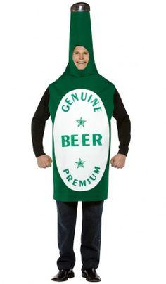 Déguisement Bouteille De Bière - Adulte