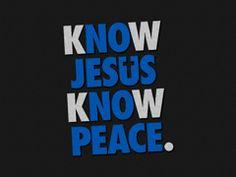 know Jesus Free Christian Wallpaper