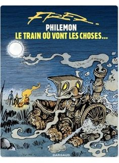 Le train où vont les choses est le 16e tome de Philémon, la série chef-d'oeuvre de Fred... Le train où vont les choses est le 16e et dernier album de Philémon ; une série culte pour petits et grands qui a marqué l'histoire de la bande dessinée.