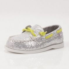 Carters Olive Boat Shoe - I need these for the girls!!