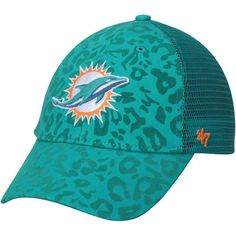 Miami Dolphins '47 Women's Billie Adjustable Hat - Aqua
