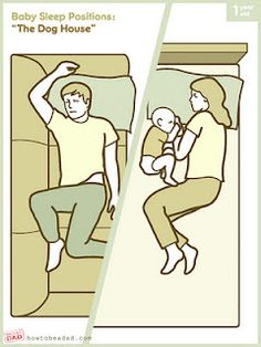 Sleeping with a baby, 7 ways