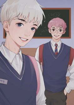 Exo, Chanyeol, Baekhyun Fanart, Chanbaek Fanart, Cute Gay Couples, Fujoshi, Fan Art, Anime, Dibujo