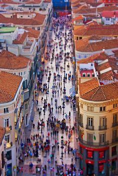 Calle Larios desde las alturas