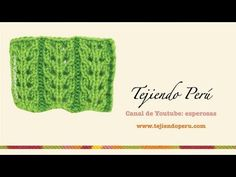 Como tejer el punto canelón con hojas caladas en dos agujas o palitos Lace Knitting, Knitting Patterns, Knit Crochet, Knitting Videos, Crochet Videos, Diy And Crafts, Stitch, Sewing, Fabric