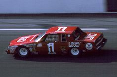 Buddy Baker, in the Uno sponsored Buick Regal.