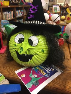 Roald Dahl's The Witches Character Pumpkins, Pumpkin Contest, Which Witch, Story Characters, Roald Dahl, Witches, Lily, Halloween, Book
