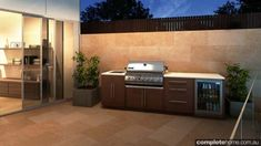 Alfresco kitchen design from MyAlfresco