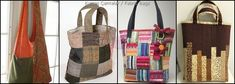 Bez Çanta Nasıl Yapılır? Beach Tote Bags, Burlap, Creativity, Reusable Tote Bags, Purses, Sewing, Cosmetic Bag, Fabric Purses, Cowboys