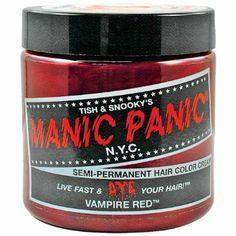 Amazon.com: Manic Panic Vampire Red Hair Dye: Beauty