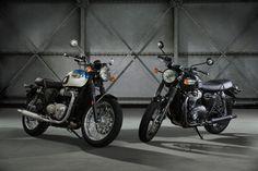 The all-new Triumph Bonneville T100 and T100 Black