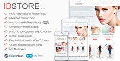 IDStore - Responsive Multi-Purpose Ecommerce Theme | WordPress WooCommerce Theme