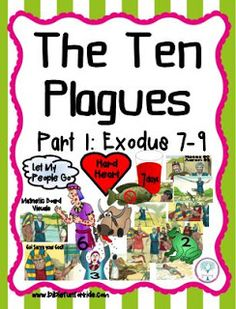 Moses and the 10 Plagues Visuals Part 1