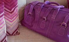 Sac cuir Violet Ultra - Hurbane