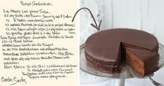 Sacherova torta podľa originálneho tradičného receptu | Recept Cheesecake, Food And Drink, Pudding, Bread, Cookies, Baking, Crack Crackers, Cheesecakes, Custard Pudding