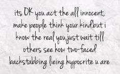 quotes about people who stab you in the back | You can get your favourite quotes as a cute picture for your timeline ...