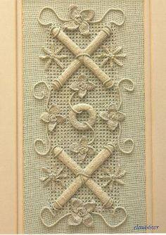 Casalguidi ~ Italian embroidery technique
