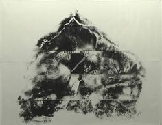 artwork, Paysage du cerveau by Giuseppe Penone  1990   CATEGORY:  Mixed Media   MATERIALS:  Black marble and photographic film   SIZE: h: 188 x w: 238 cm / h: 74 x w: 93.7 in