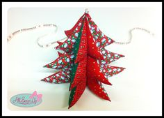 3D Christmas Tree Decorations more tuts available