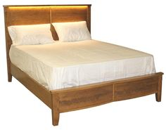 Amish Logan View Bed - Keystone Collection
