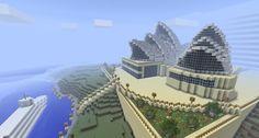 amazing minecraft builds   sydney opera house in minecraft