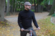 Cycling clothing: Velobici San-Remo Turtle Neck by Lovely Bicycle!, via Flickr