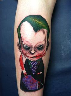 The Killer Joker Tattoo