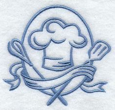 Machine Embroidery Designs at Embroidery Library! - Chefs