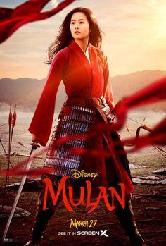 Yifei Liu in Mulan Posters Film complet 2020 2020 Movies, New Movies, Disney Movies, Movies Online, Film Online, Watch Movies, Disney Characters, Fictional Characters, Walt Disney Pictures