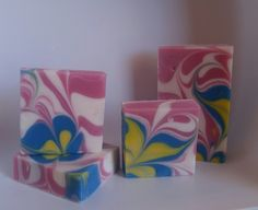 I love the bright colors and how the soap turned out. Really enjoyed this challenge