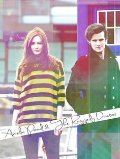 Amy Pond and the Raggedy Doctor