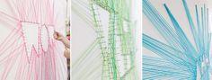 Wil je eens wat anders dan kunst, fotolijsten of spiegels aan de muur? Heb je dan al eens gedacht om spijkerkunst aan de muur op te hangen? Je kunt vele variaties maken door middel van wat spijkers en draad. Laat je hier inspireren voor unieke muurdecoraties!