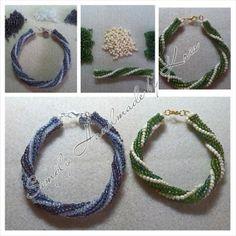 Spiral twist bracelets by SHmbK