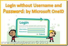 Microsoft develops an application for you to login into any website without username and password. Catch full story here: http://www.myblogbest.in/2012/03/microsoft-bizspark-develop-application.html