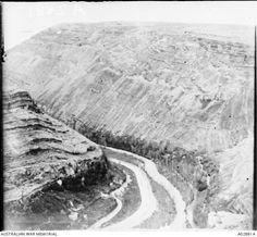 Barada Gorge, north west of Damascus. It was in this gorge that Turks attempted to escape on the September but the head of the column was annihilated by the and Light . Machine Guns, Ottoman Empire, Damascus, Syria, North West, Egypt, 30th, September, Rest