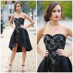 Little Black Party Dress from Cousin Couture.