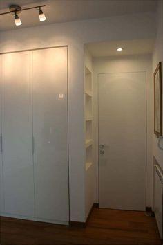 80 Beautiful bedrooms with great ideas to steal Small Room Bedroom, Room Ideas Bedroom, Home Bedroom, Modern Bedroom, Bedroom Decor, Wardrobe Design Bedroom, Bedroom Furniture Design, Bedroom Wardrobe, Flur Design