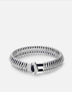 Klink Bracelet, Sterling Silver, Matte | Men's Bracelets | Miansai