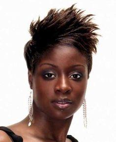 Cool Short Haircuts for Black Women