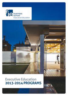 Folleto Executive Education de IE Business School.