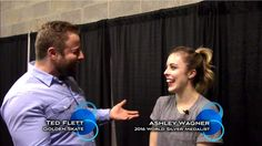 2017 Golden Skate Interview with Ashley Wagner