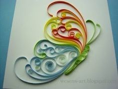 Homestead Survival: Tutorial: An introduction to paper quilling :)